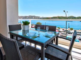066 Astounding Views Tigne Seafront 4-bedroom Ap - Island of Malta vacation rentals