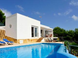 Modern 4 bedroom villa with aircon and  private infinity pool with sea views - ES-1078800-Es Mercadal - Minorca vacation rentals