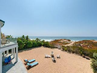 Ocean Villa is a 6000 sq ft mansion, beachfront to Broad Beach with Oceanfront hot tub - Malibu vacation rentals