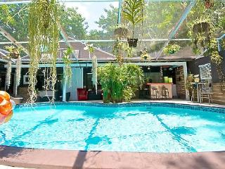 Guest House in Authentic Log Cabin - North Miami vacation rentals