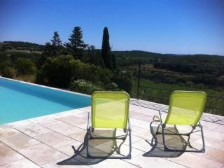 Infinity pool with views - The photos cannot do these views justice! - Pezenas vacation rentals