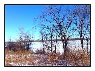Great Cataraqui River in the Winter (a short walk from the townhouse)  - Beautiful New Riverside Townhouse - Kingston - rentals