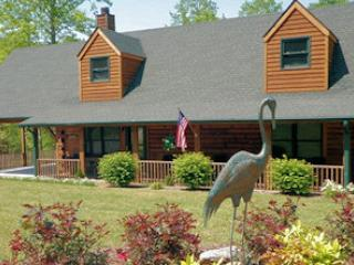 River Landing Log Cabin - Gazebo By The River! - Lake Lure vacation rentals