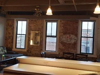 Spacious Loft in the heart of Omaha's Old Market! - Omaha vacation rentals