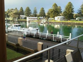 Luxury apartment with absolute river frontage. - Port Fairy vacation rentals