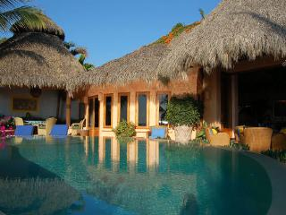 Casa Calabaza - Beachfront! - San Pancho - Mexican Riviera-Pacific Coast vacation rentals