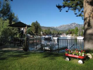 Tahoe Keys Boat Dock, 2 Decks, Hot Tub, Views!!! - South Lake Tahoe vacation rentals