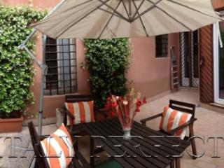 Terrace in Trastevere Apartment-Cute-Clean-Dorotea - Rome vacation rentals