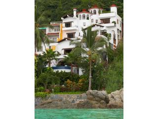 Casa Carole From the Sea Yes you get all 4 levels. Our safe, sandy beach is just to the left. - Luxury Beachfront Villa Full Staff 25% OFF Aug/Sep - Puerto Vallarta - rentals