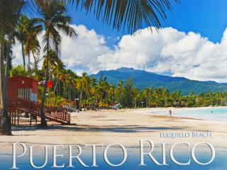 Luquillo Paradise & Rainforest  Deluxe Villa . - El Yunque National Forest Area vacation rentals
