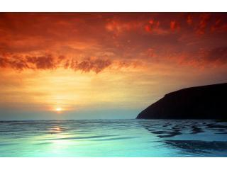 sunset - Seaview house, mawgan porth, nr Watergate Bay - Mawgan Porth - rentals
