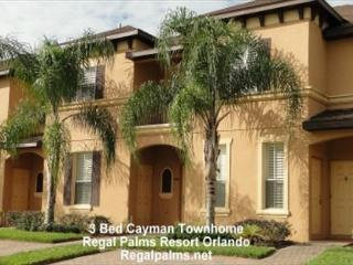 3 Bed Town Home Villa At Regal Palms Resort Orlando Florida AS2715CL - Davenport vacation rentals