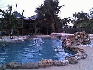 Skylark Tiki Bar,waterfall, pool-resort style home - Merritt Island vacation rentals