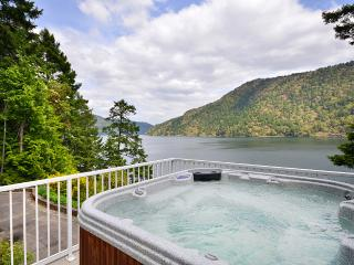 Spectacular Victoria Area Ocean Front Estate with Hot Tub and Private Dock - Vancouver Island vacation rentals