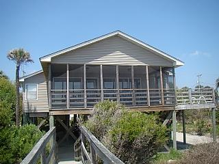 Oceanfront Exterior - Back Home - Folly Beach - rentals