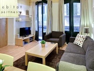 Born 1 apartment, 2 bedroom with patio in old town - Barcelona vacation rentals