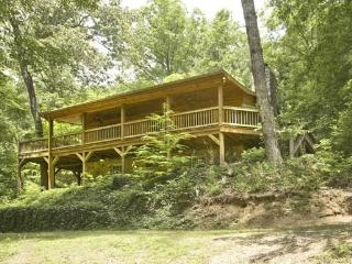 MISTY LAKE LODGE*4BR~3BA~CABIN SITTING ON 10 SECLUDED ACRES WITH A PRIVATE LAKE~WiFi~WOODBURNING FIREPLACE~CHARCOAL GRILL~SAT TV - Blue Ridge vacation rentals