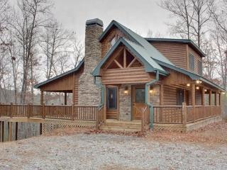 SAFE HAVEN*2 BR~2 BA~CABIN WITH BEAUTIFUL MOUNTAIN VIEWS~WIFI~DISH NETWORK~FREE NETFLIX~GAS AND CHARCOAL GRILLS~TEMPUR-PEDIC MAT - Blue Ridge vacation rentals
