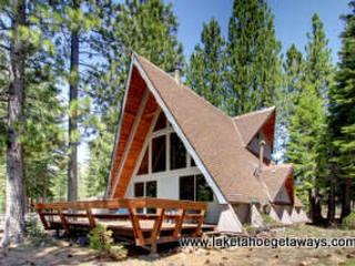 Exterior-Rear - Mewuk Mountain Lodge - South Lake Tahoe - rentals