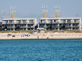 Shipwatch II 221 Oceanfront! | Community Pool, Internet - North Topsail Beach vacation rentals