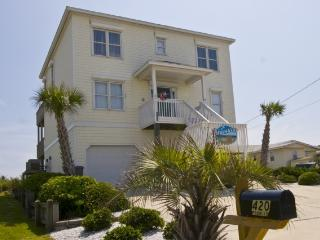 N. Shore Dr. 420 Oceanfront! | Jacuzzi, Elevator, Internet, Game Equipment - Topsail Island vacation rentals