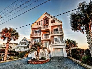 Island Drive 3568 Oceanfront! | Private Heated Pool, Hot Tub, Elevator, Jacuzzi, Internet, Fireplace, Game Equipment - North Topsail Beach vacation rentals