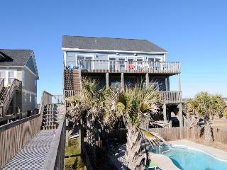 Island Drive 3892 Oceanfront! | Private Heated Pool, Hot Tub, Jacuzzi, Internet - North Topsail Beach vacation rentals