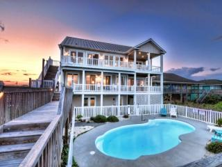 N. Shore Dr. 502 Oceanfront! | Private Heated Pool, Hot Tub, Elevator, Internet, Jacuzzi, Fireplace, Game Equipment - Surf City vacation rentals