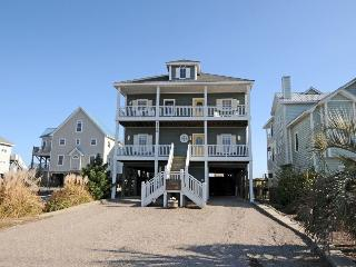Island Drive 4388 Oceanfront-B Lot! | Hot Tub, Elevator, Jacuzzi, Internet, Fireplace - North Topsail Beach vacation rentals