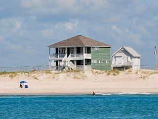 New River Inlet Rd 880 Oceanfront! | Fireplace, Hot Tub, Wedding Friendly - North Topsail Beach vacation rentals