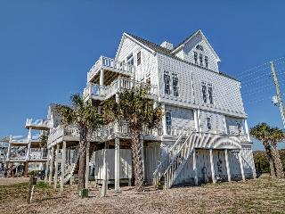 Island Drive 4166 Oceanfront! | Internet, Community Pool, Hot Tub, Elevator, Jacuzzi, Fireplace - Topsail Island vacation rentals