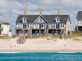 Island Drive 3888 Oceanfront! | Internet, Shared Pool - Topsail Island vacation rentals