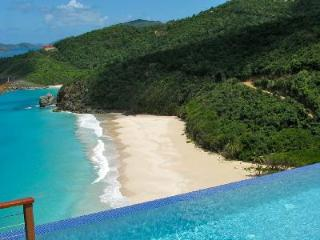 Aja - means Magical Private Path to Trunk Beach  Special Events - Tortola vacation rentals