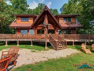 Deja View Log Cabin - Bryson City vacation rentals
