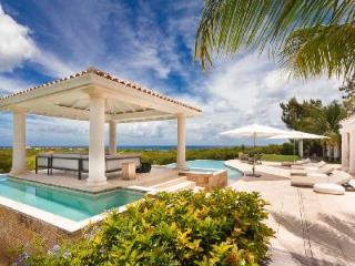 Agora - Modern villa overlooking Caribbean Sea offers pool & privacy - Terres Basses vacation rentals