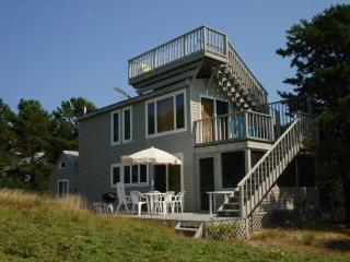 Modern, down a dirt lane near  Bay Beach INTERNET - Wellfleet vacation rentals