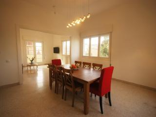 Bialik Street Jewel -- Historic Bauhaus - Israel vacation rentals