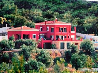 Stylish Regina Rossa with great sea views - Roda vacation rentals