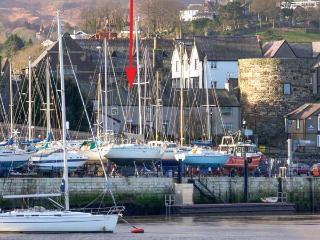 QUAYSIDE COTTAGE, harbour views, woodburner, luxury cottage, in Conwy, Ref 21843 - Conwy County vacation rentals