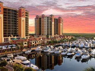 Cape Harbour Condo - Beautiful 3/2, 11th Floor Unit w/views across river, contemporary furnishings - Fort Myers vacation rentals