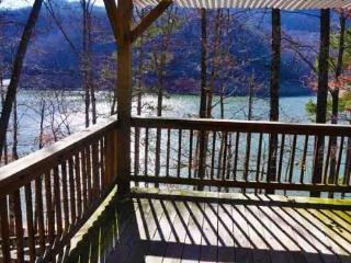 Mountain Dew Lake House - Luxurious 4 Bedroom Log Cabin on Fontana Lake with Hot Tub - Bryson City vacation rentals