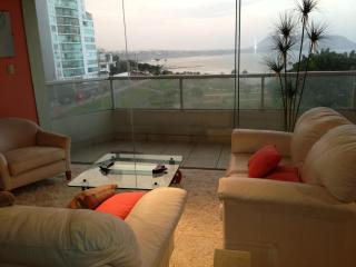 4 bedroorm ocean view luxury furnished/equipped apt. with fantastic view of the Lima bay - Miraflores vacation rentals