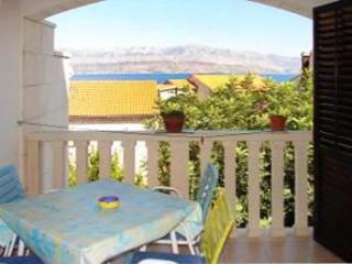 Apartment for 5 persons near the beach in Brac - Island Brac vacation rentals