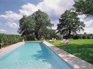 Villa Vigna is luxurious, yet rustic with a manicured lawn and marvelous pool - Umbria vacation rentals