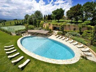 Outstanding Borgo Finocchieto features media and wine tasting room, with staff - Montalcino vacation rentals