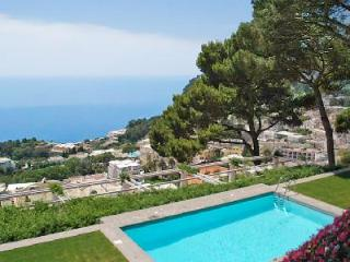Magnificent Villa Fortino in Capri center with multi level terraces, huge outdoor space & pool - Capri vacation rentals