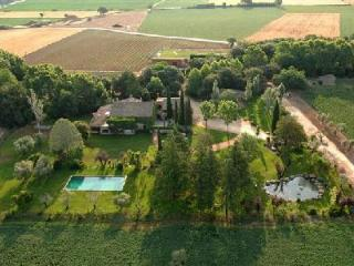 Mas Anglada Villa with tennis court, putting green, workout room and three staff - la Bisbal d'Emporda vacation rentals