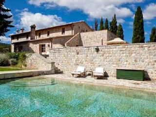 Villa Oliviera features spectacular terraces and views, with housekeeping - Montalcino vacation rentals