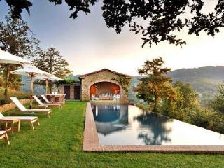 Private haven Villa Spinaltermine with magnificent views, infinity pool & daily maid - Umbertide vacation rentals