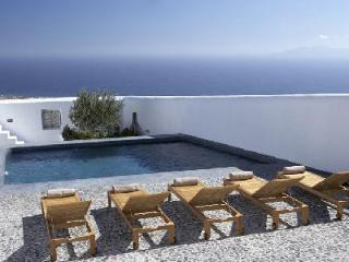 Katoy - Stunning villa with shared pool, classic Santorini design & complimentary services - Pyrgos vacation rentals